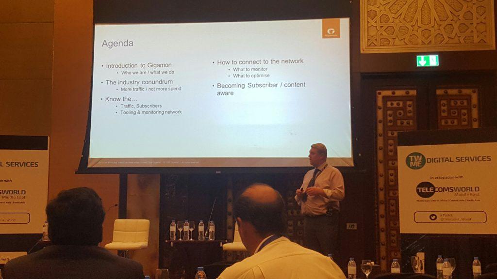 Telecoms World Middle East Gigamon Presentation