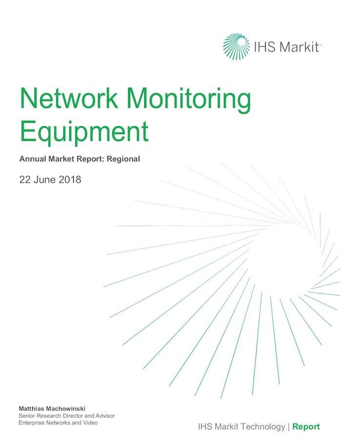 IHS Markit Network Monitory Equipment report