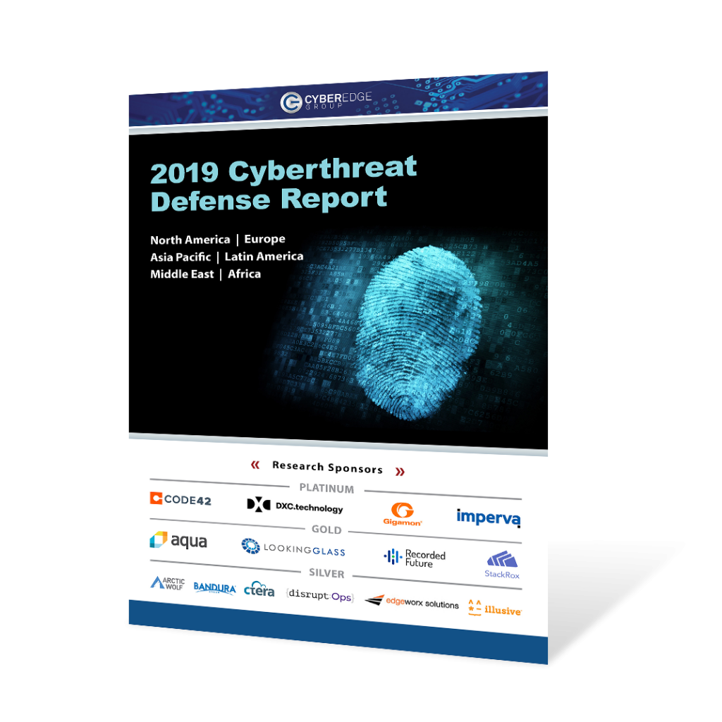 2019 Cyberthreat Defense Report cover